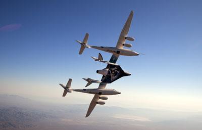 Kommer SpaceShipTwo att göra sin första glidflygning idag?