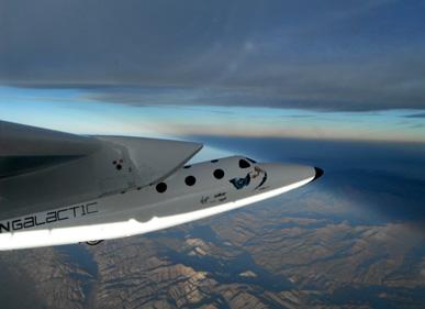 Virgin Galactic funderar på att använda WhiteKnightTwo för Zero-G flygningar