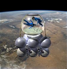 Armadillo Aerospace konceptbild
