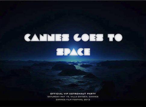 Virgin Galactic håller en VIP rymdfest i Cannes med stjärnorna