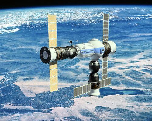 Ryssarna skjuter upp världens första kommersiella rymdstation