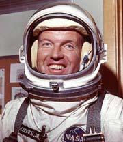 Dennis Quaid som astronauten Gordon Cooper