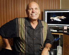 Under fastighetsboomen köpte han den första rymdbiljetten av Virgin Galactic