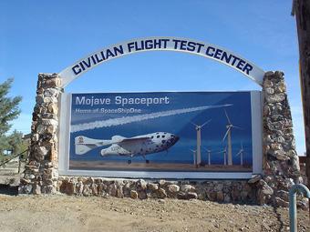 Mojave får licens för SpaceShipTwo