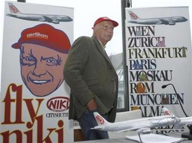 F1-stjärnan Niki Lauda vill bli rymdpilot