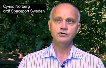 Ny presentationsfilm av Spaceport Sweden