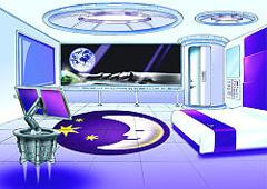 Premier Inn Lunar Retreat interiör