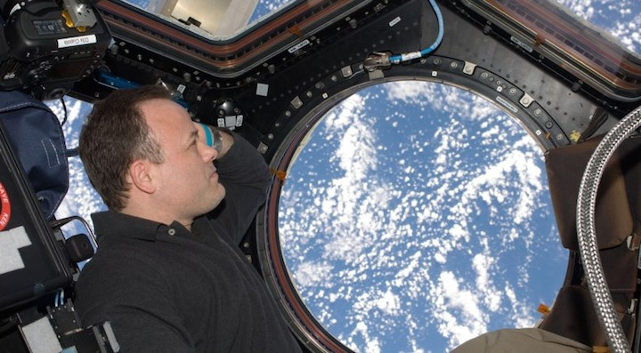 World View tar in astronaut som chefspilot
