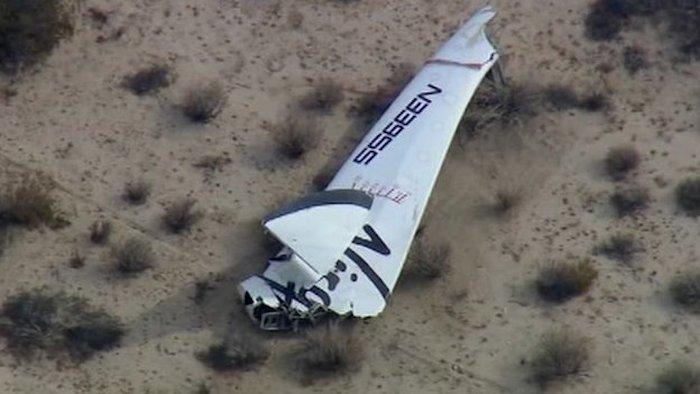 Virgin Galactics rymdskepp har kraschat