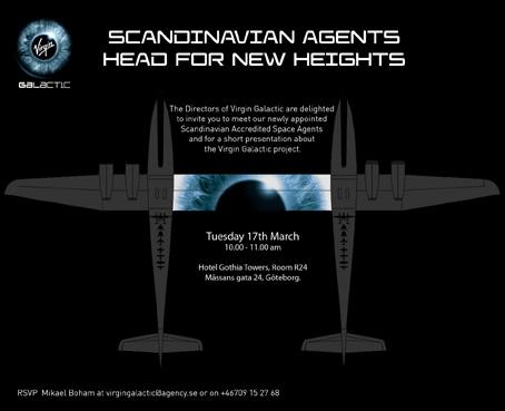 PR-byrån Agency ska locka svenskar att åka ut i rymden