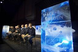 Spaceport Sweden invigning, foto: Hans-Olof Utsi