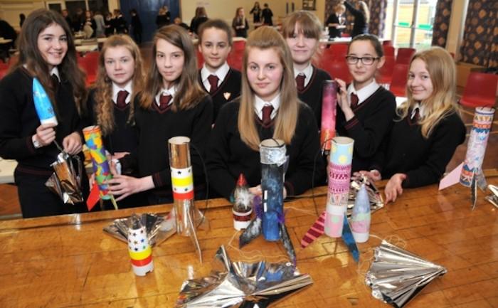 Studenter får smak för rymdturism