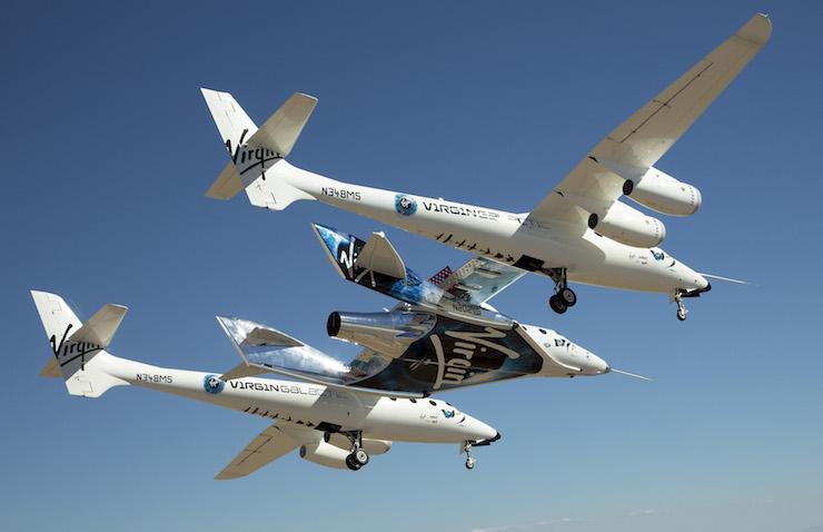 Virgin Galactic återupptar sitt testprogram med SpaceShipTwo