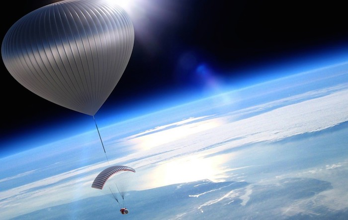 Testflygning tar rymdturism i en ballong ett steg närmare