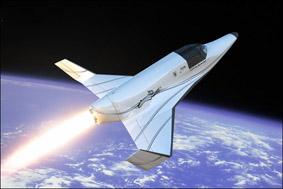 XCORs suborbitala rymdskepp Lynx
