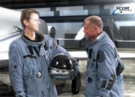 Per Wimmer är XCORs första betalande rymdturist