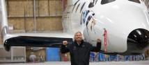 Smygbilder på SpaceShipTwo