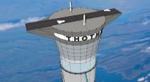 Uppblåsbar hiss ska göra rymdresor enklare