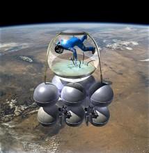 Ryss blir Armadillo Aerospace första rymdturist