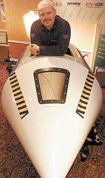 En brittisk raketbyggare tävlar mot miljardärerna om att ta turister ut i rymden