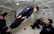 Hawking gled undan gravitationens grepp med ett leende