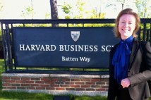 Spaceport Sweden uppmärksammades på Harvard Business School i Boston