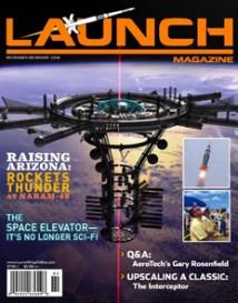LAUNCH Magazine lanseras med kommersiella rymdfärder som tema