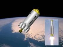 Interorbital planerar tester med en farkost för rymdturister 2011