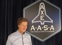 Rymdfysiker leder den svenska delen av Axe Apollo Space Academy