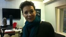 Renata Chlumska på väg mot rymden