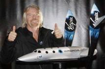 Richard Branson och SpaceShipTwo