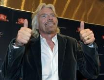 Richard Branson på besök i Sverige och Stockholm