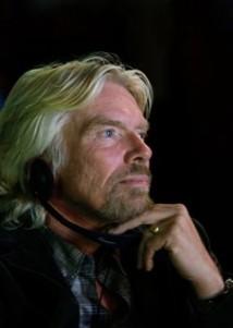 Richard Branson på besök i Portugal
