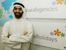 Salah Sharaf, styrelseordförande hos Sharaf Travel
