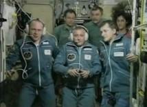 Den femte rymdturisten anländer till den Internationella rymdstationen
