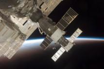 Soyuz dockar med ISS
