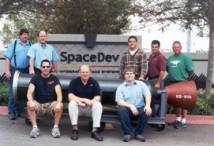 SpaceDevs utvecklingsteam
