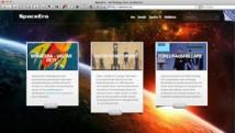 Rymdturism.se presenterar SpaceEras nya webbplats