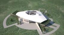 Spaceport Sweden presenterar koncept för ny världsattraktion, ett Space Visitor & Science Center i Kiruna