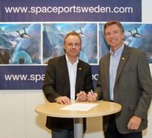 Bengt Jaegtnes, Spaceport Sweden och Steve Landeene, Spaceport America