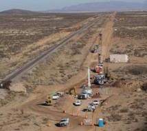Start av vägkonstruktion för Spaceport America