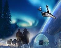 Konceptbild Spaceport Sweden