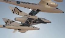 Video från första bemannade flygturen med VSS Enterprise