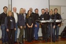 Representanter från Spaceport Sweden och Virgin Galactic vid Esrange 080401