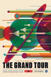 NASA har släppt nya affischer om framtida resor för rymdturister