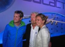 Branson åker med barnen på Virgins första rymdtur