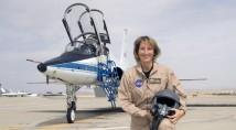 Virgin Galactics första kvinnliga testpilot