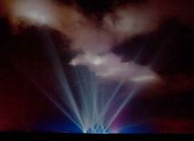 Ljusshow i Mojave med Virgin Galactic?