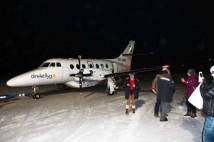 Norrskensflyg med Spaceport Sweden som en del av förberedande rymdträning för blivande astronauter
