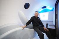 Bengt ska bli den första svenska turisten i rymden